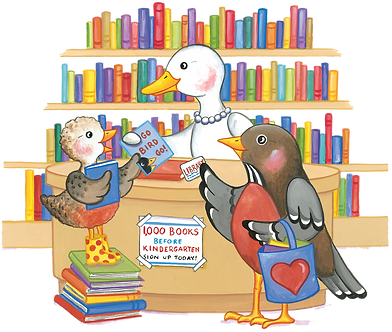 1000 Books by Kindergarten, Read to Me!, 1000 Book Challenge, Martha Zschock