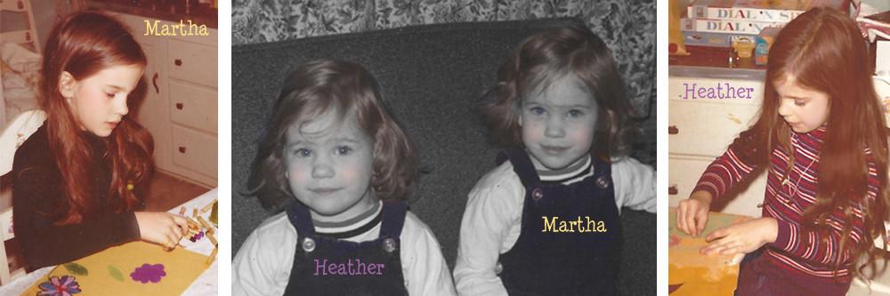 Martha Zschock, Heather Zschock
