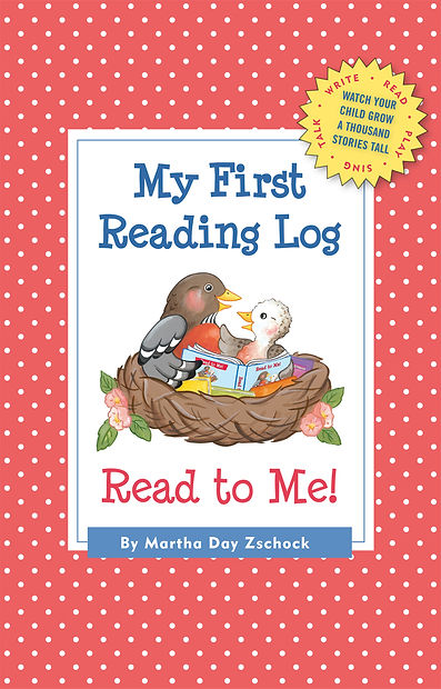 My First Reading Log, Martha Day Zschock, 1000 Books by Kindergarten