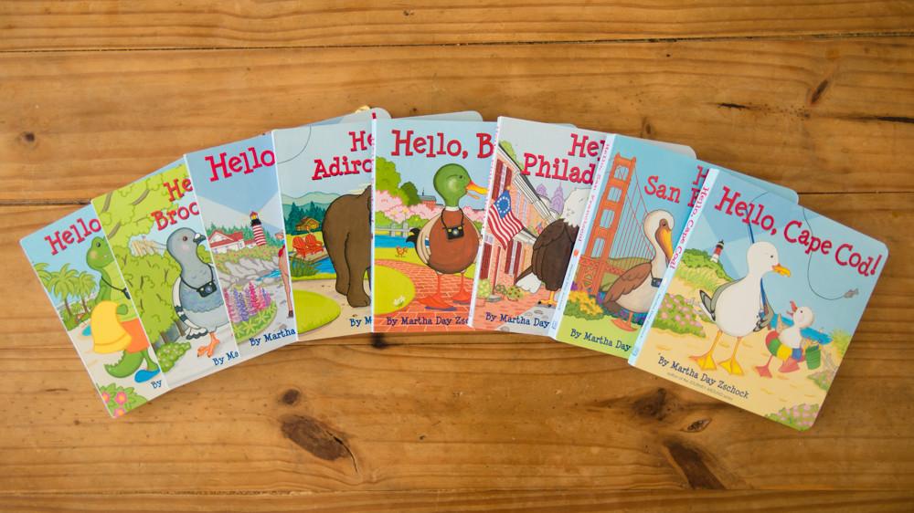 Martha Day Zschock, Hello! books