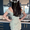 Thumbnail: THE EDEN FLORAL SHIRRING DRESS