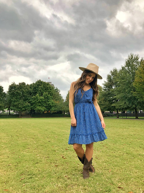 STERLING POLKA DOT DRESS