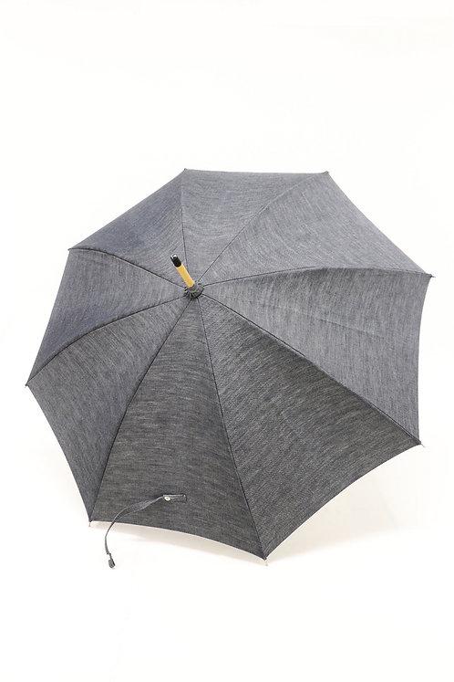 デニム晴雨兼用日傘(ブラック)