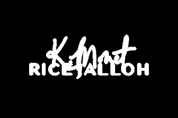 K.Monet Rice-Jalloh Official Logo WHITE.
