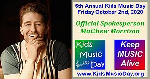 Kids Music Day 2020  with Matthew Morris