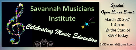 SMI Celebrating Music Education 2021 Ad
