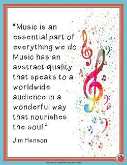 Jim Henson Music Quote smaller