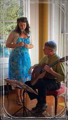 Classical Guitar Flute Voice Music