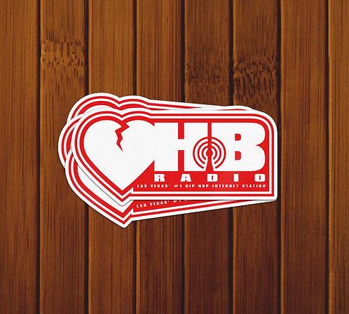 HB RADIO STICKERS