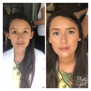 Today's bride wanted #nomakeup#makeuploo