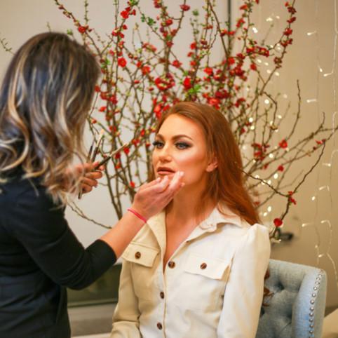 makeup process