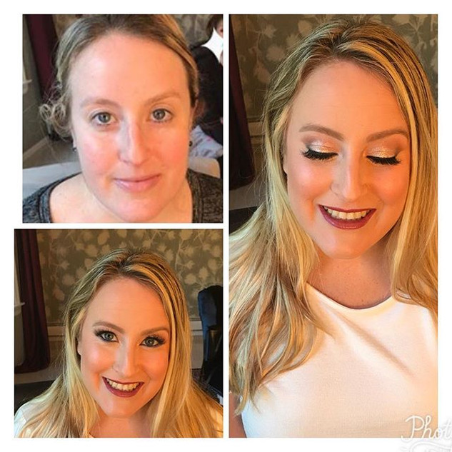 after#bridetobe#bridalshowermakeup #make