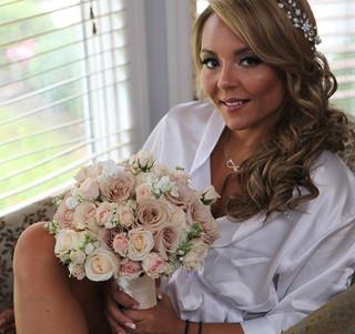 My beautiful bride 👰 #makeupbytatyana.c