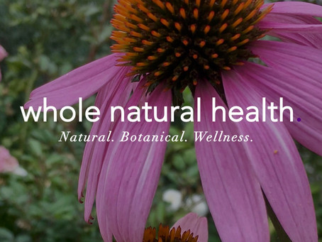 Hello & welcome to the Whole Natural Health website!