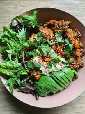 Easy Lentil & Veggie Curry.