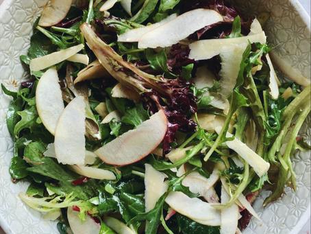 Apple & Parmesan Side Salad.