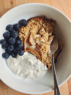 Baked Vanilla & Pear Porridge