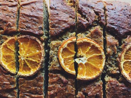 Mandarin & Poppy Seed Loaf.