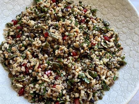 Grain Salad.