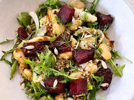 Beetroot & Fennel Salad.