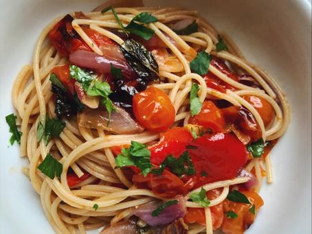 Roast Tomato Pasta.