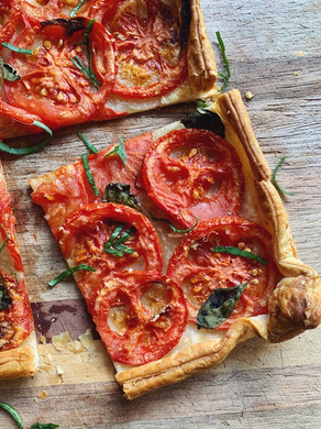 Cheat's Tomato Galette.