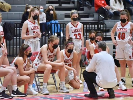 Spring Lake Girls Varsity Basketball take down Coopersville 41-17