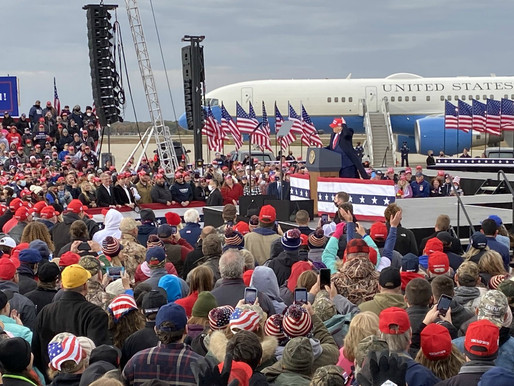 Rousing Trump Rally in Muskegon