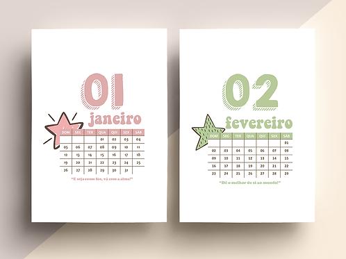 CALENDÁRIO 2020 - TODOS OS MESES
