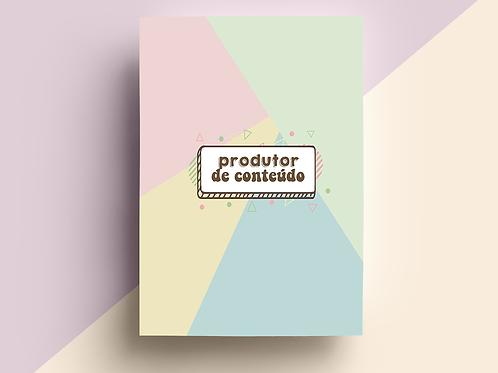 INSERT DE PRODUTORES DE CONTEÚDO 2020