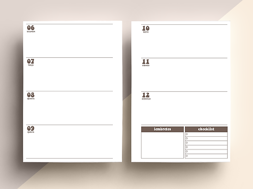 MIOLO PLANNER 2020 HORIZONTAL
