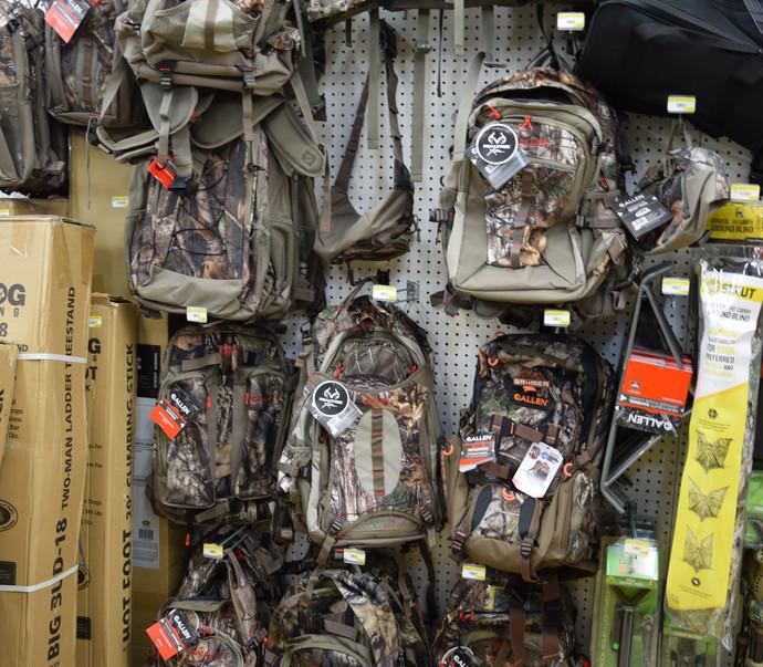 Allen Camo Backpacks