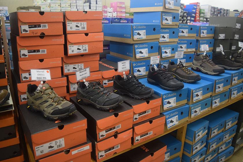 Merrell & Columbia Hiking Shoes