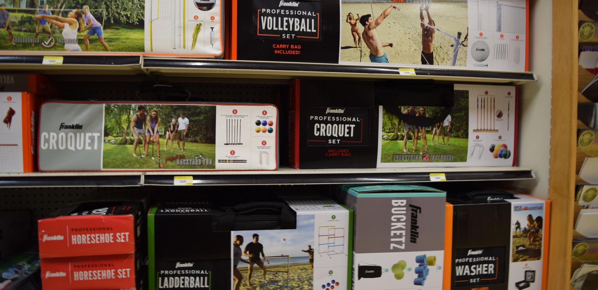 Franklin Croquet, Ladderball, & Volleyball Sets