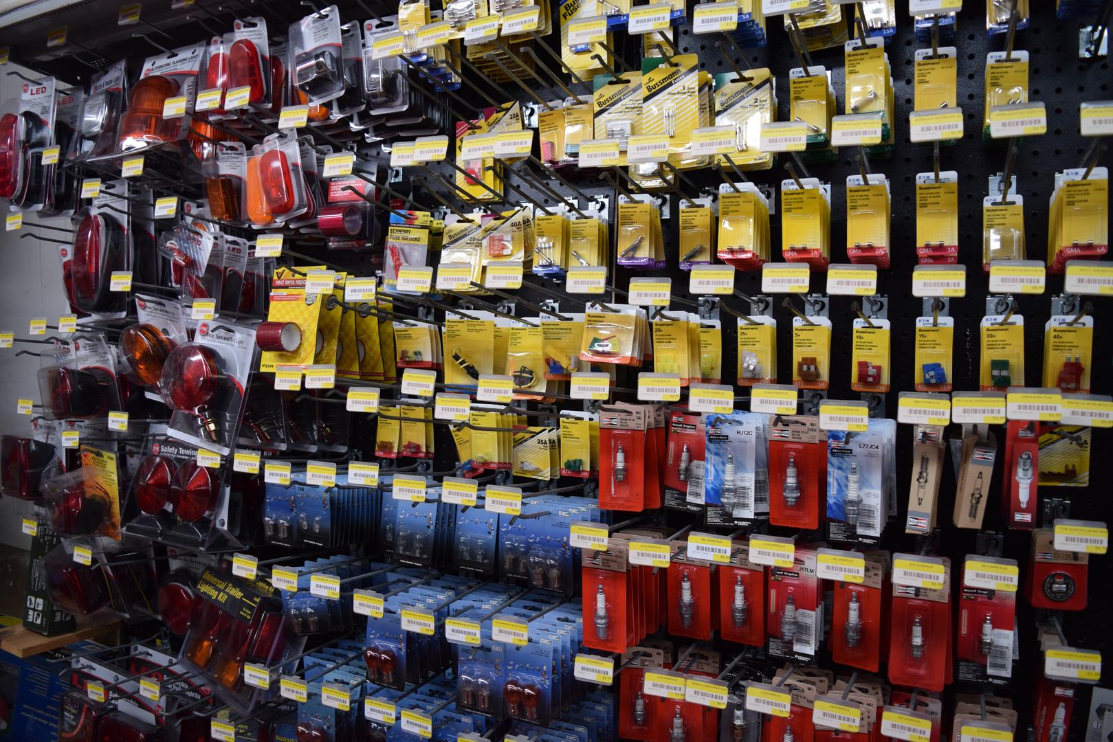 Light Bulbs, Fuses, & Spark Plugs