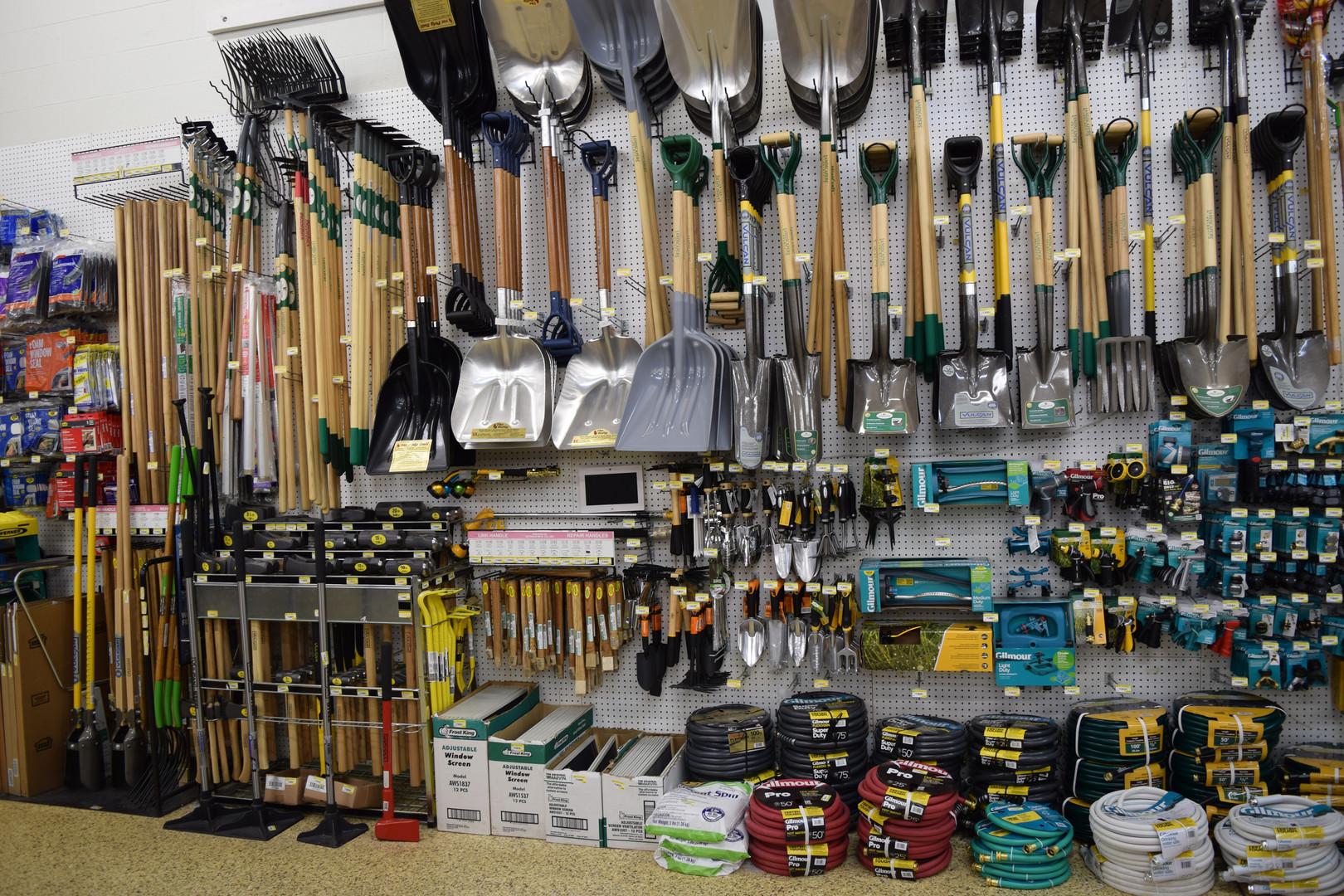 Long & Short Handled Garden Tools