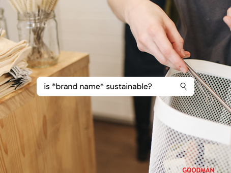 Is your favourite brand sustainable?