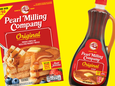 """Aunt Jemima"" Rebranded to ""Pearl Milling Company"""