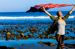 Born - Malibu Lagoon - Flag