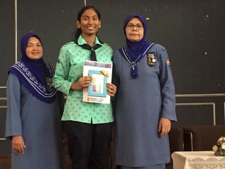 SMKPP9(2) JOHAN PUBLIC SPEAKING WORLD THINKING DAY PANDU PUTERI MALAYSIA