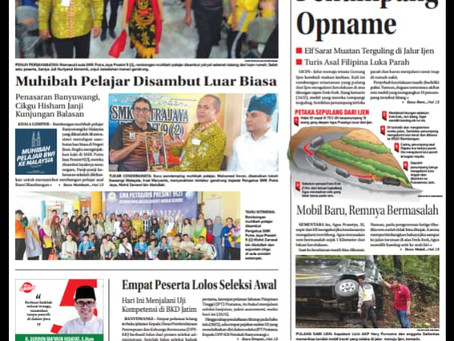 ROMBONGAN MUHIBAH PELAJAR BANYUWANGI INDONESIA-PUTRAJAYA