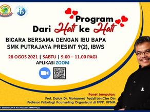 PROGRAM DARI HATI KE HATI: Bicara Bersama Dengan Ibu Bapa SMK Putrajaya Presint 9(2)