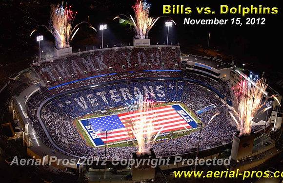 Buffalo Bills Salute to Veterans