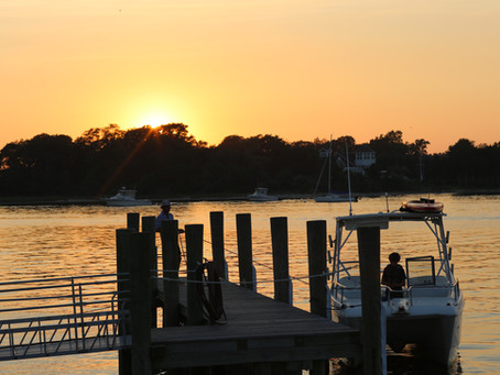 Long Wharf at Sag Harbor, NY
