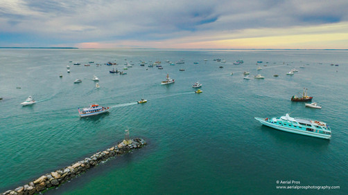 """Blessing of the Fleet"" - Block Island Sound, NY"