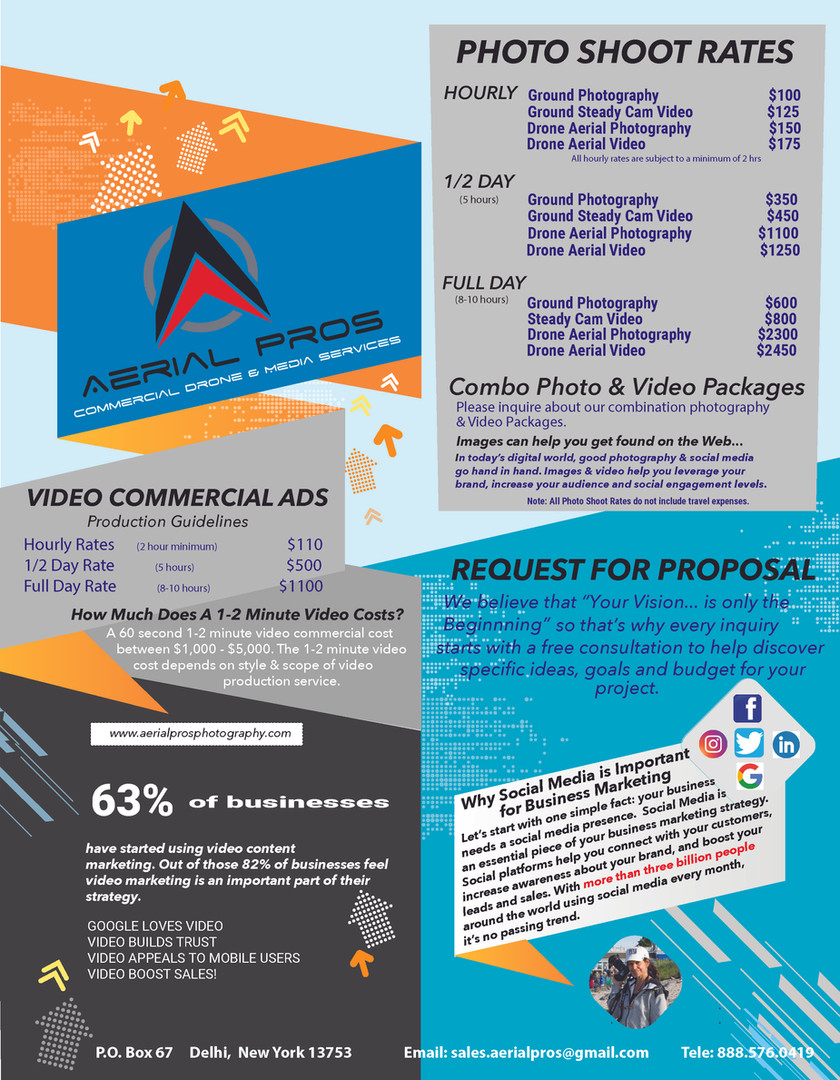 Aerial Pros- Services Pricing-Back Cover