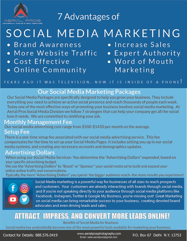 Social Media Insert Pricing-Front Cover