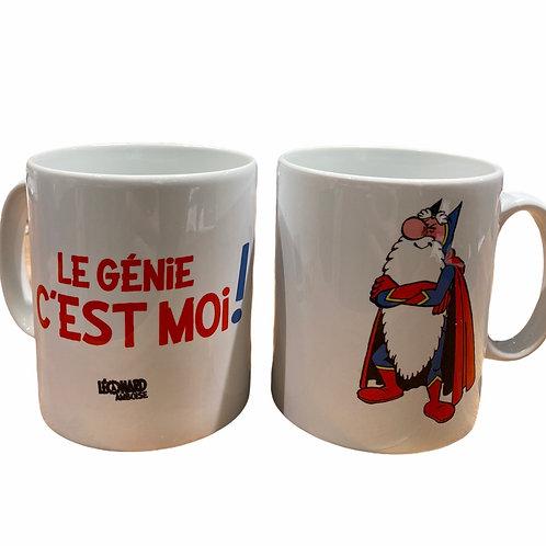 "Mug "" Le Génie c'est moi"""