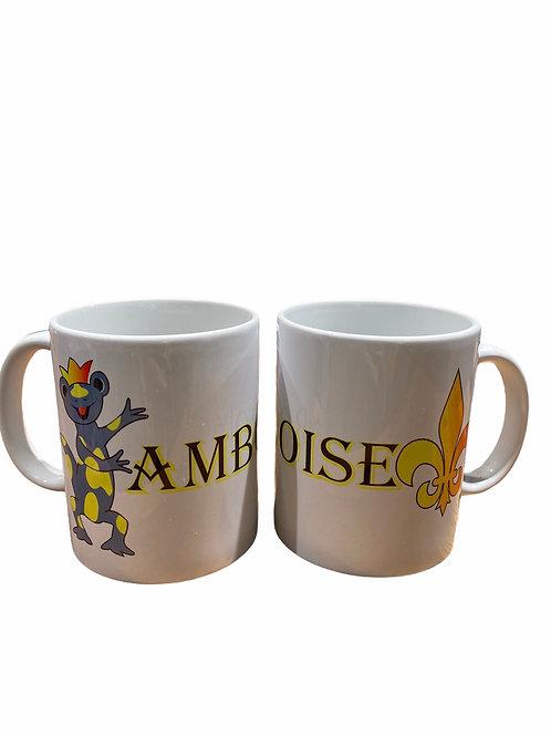 "Mug "" Amboise - Salamandre"""