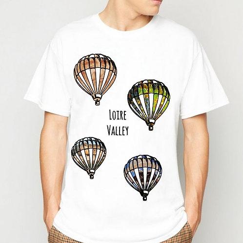 "Tee-Shirt "" Loire Valley"""